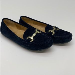 Cynthia Rowley Loafers Women's 7.5 M Navy Suede